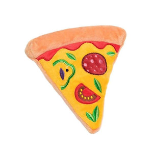 Pizza Slice Plush & Squeaky Dog Toy - Urban - 1