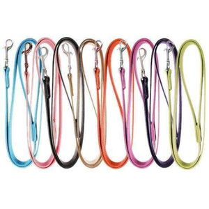 Plain Leather Dog Leads - Posh Pawz Fashion