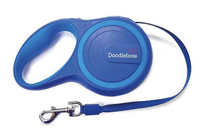 Rambler 5m Retractable Dog Lead Blue - Posh Pawz Fashion
