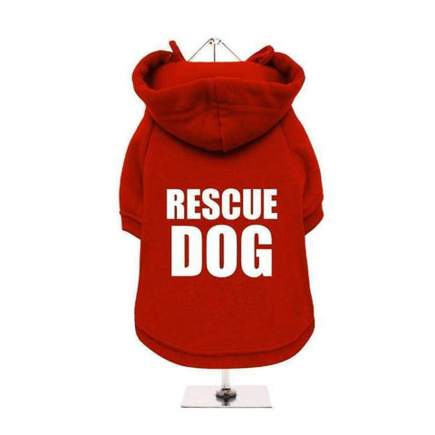Rescue Dog Hoodie Sweatshirt - Posh Pawz Fashion