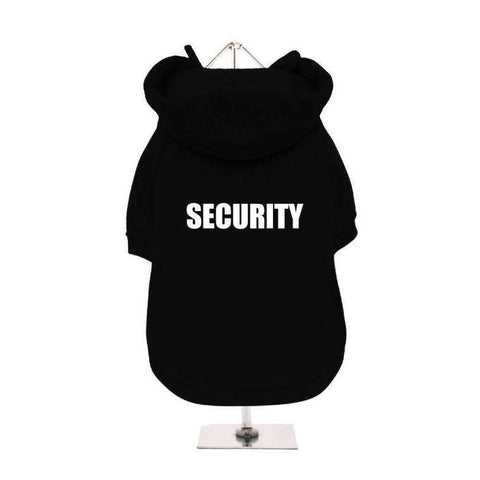 Security Dog Hoodie Sweatshirt - Posh Pawz Fashion