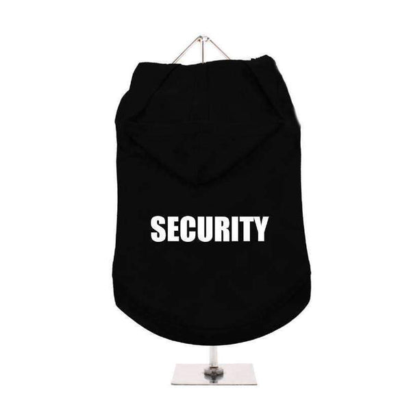 Security Hooded Dog T-Shirt - Posh Pawz Fashion