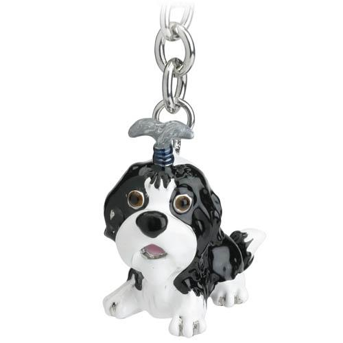 Shi Tzu Little Paws Keyring Handbag Charm - Posh Pawz Fashion