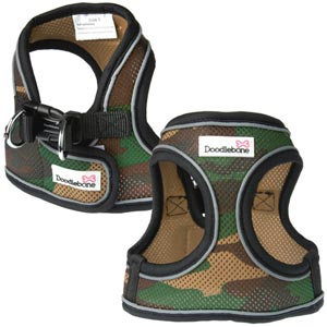 Airmesh Camouflage Vest Dog Harness - Posh Pawz Fashion