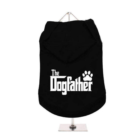 The Dogfather Hooded Dog T-Shirt - Posh Pawz Fashion