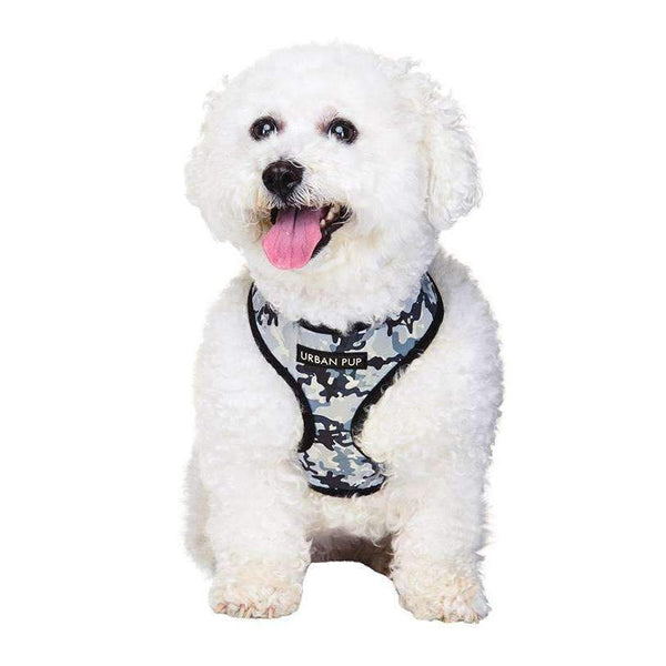 Urban Camouflage Designer Dog Harness - Posh Pawz Fashion
