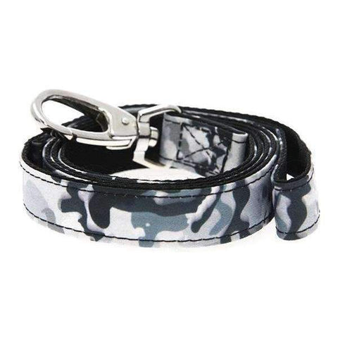 Urban Camouflage Fabric Dog Lead - Posh Pawz Fashion
