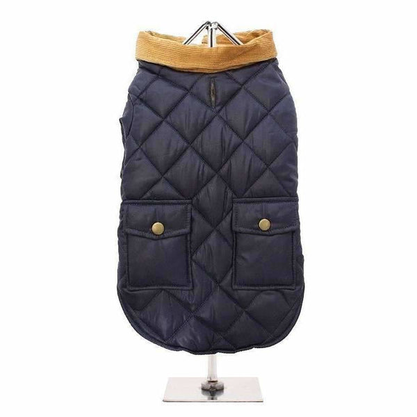 Urban Pup Blue Quilted Town And Country Dog Coat - Sale - 2