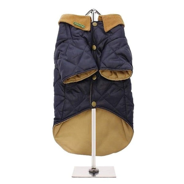 Urban Pup Blue Quilted Town And Country Dog Coat - Sale - 3