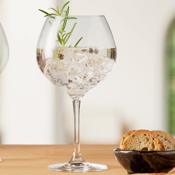 Gin Balloon Glasses, set of 2 clear