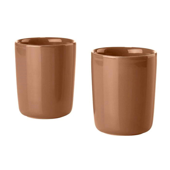 Dansk Thermo Cup 30cl large, set of 2 terracotta