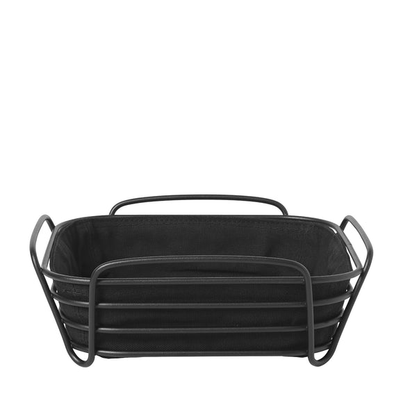 Bread basket, matt black