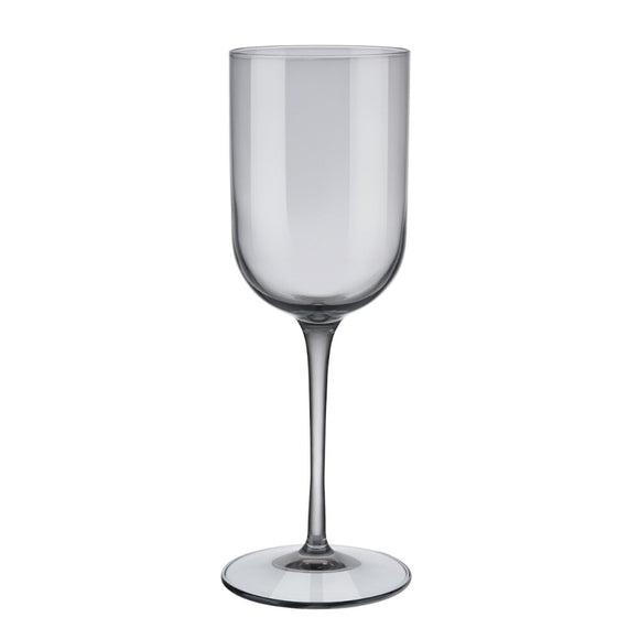 Smoky White Wine Glasses 280ml, set of 4