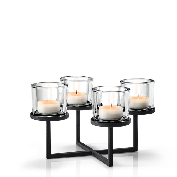 Four Circular Tealight/Candle Holder