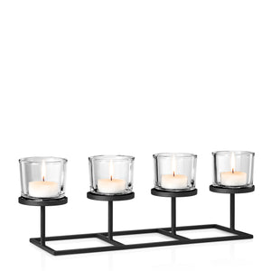 Four Inline Tealight/Candle Holder