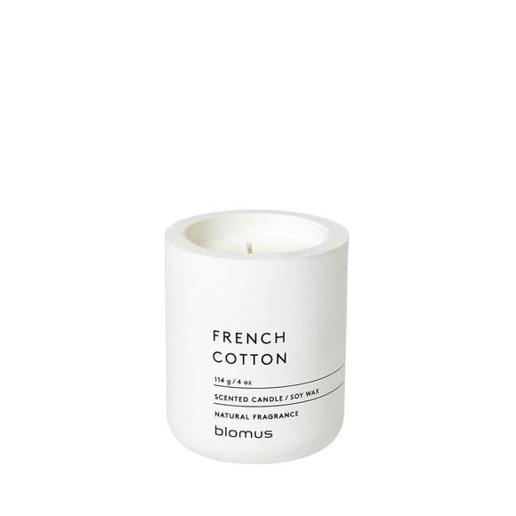 Scented Candle, French Cotton