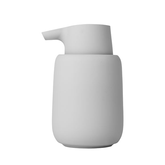 Badrum Soap Dispenser, light grey