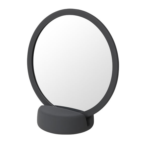 Badrum Vanity Mirror, dark grey