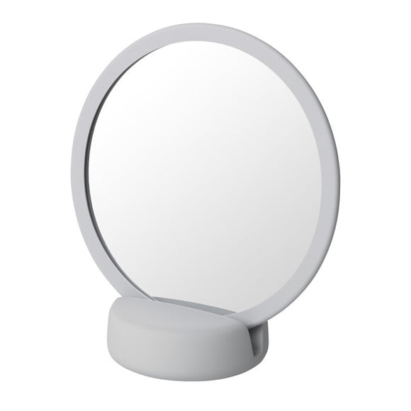 Badrum Vanity Mirror, light grey