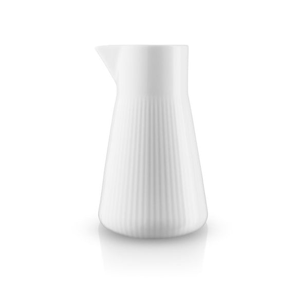 Jug, fluted white 500ml