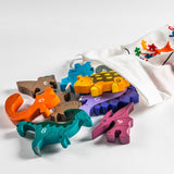 Children's Number Jigsaw, Dinosaur Set