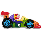 Children's Jigsaw - Numbers, Racing Car