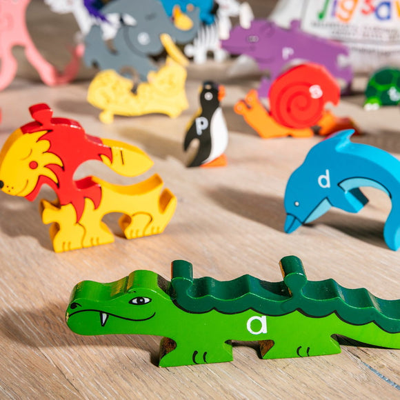 Children's Jigsaw & Playset - Alphabet, Zoo