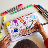 Doodle Art Colour-in Pencil Case - Space Explorer