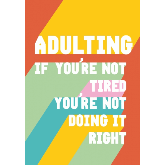 Floodlit Adulting Greeting Card
