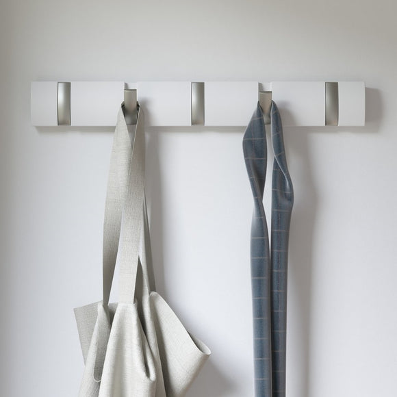 Wall Hooks, White finish