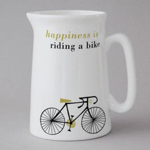 Happy Cycle mini Jug, olive
