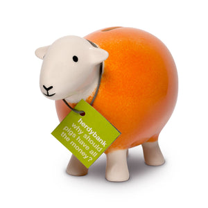Herdy Sheep Bank, orange