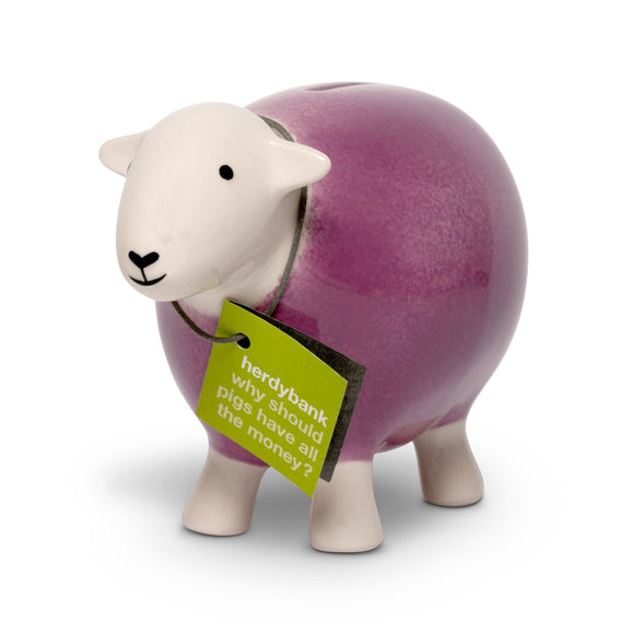 Herdy Sheep Bank, pink