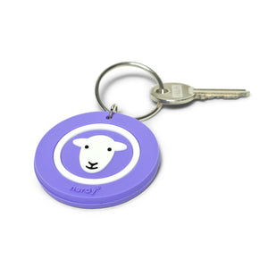 Herdy Keyring, purple