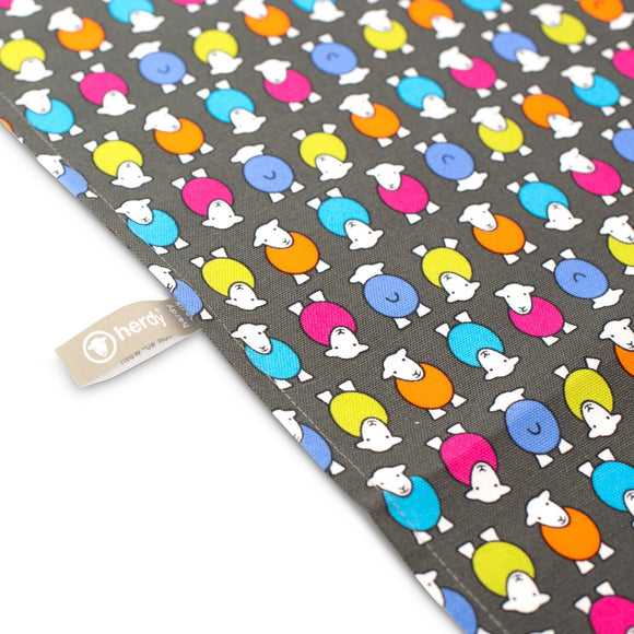 Herdy Kitchen Tea Towel, Herdy multicolour