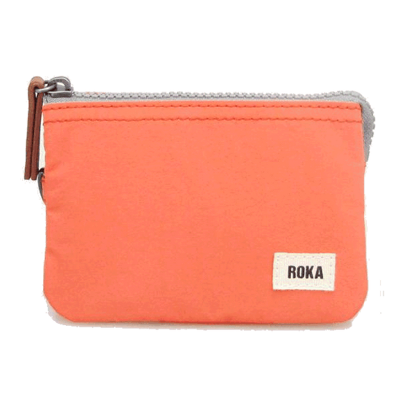 ROKA Carnaby purse/wallet, Carrot orange