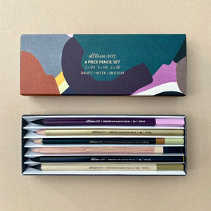 Vincent & Wood 6 piece pencil set