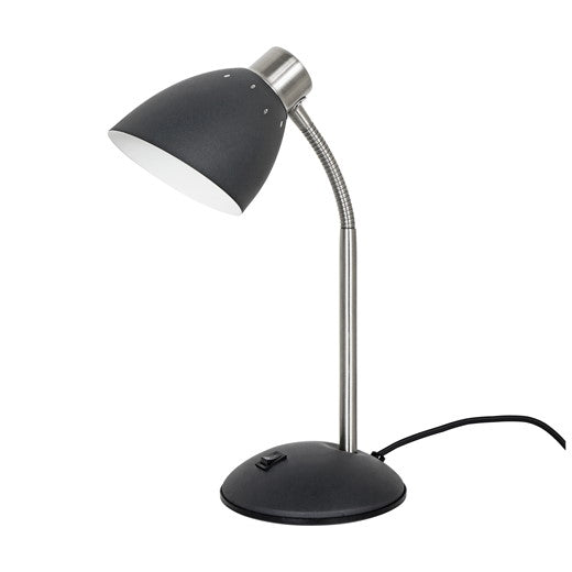 Adjustable Table Lamp, very dark grey