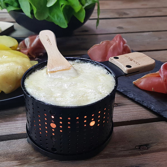 Cheese Raclette Fondue, set of 2