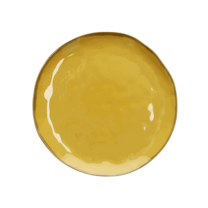 Italian Milano Dinner Plate, Yellow