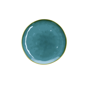 Italian Milano Salad/Side Plate, Blue