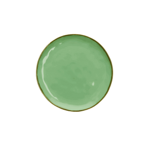 Italian Milano Salad/Side Plate, Mint Green