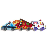 Children's Jigsaw - Numbers, Emergency vehicles