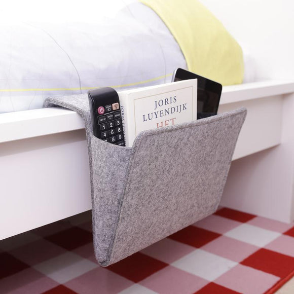 Felt Bedside Storage Pocket