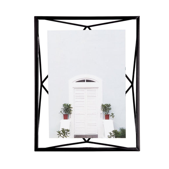 Prism photo frame, black
