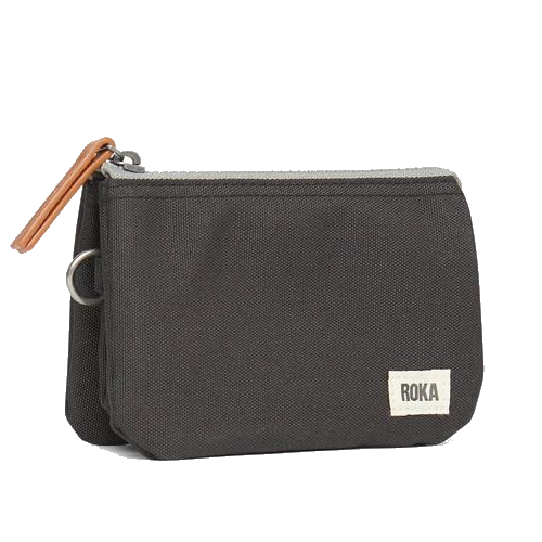 ROKA Carnaby SUSTAINABLE purse/wallet, Ash black