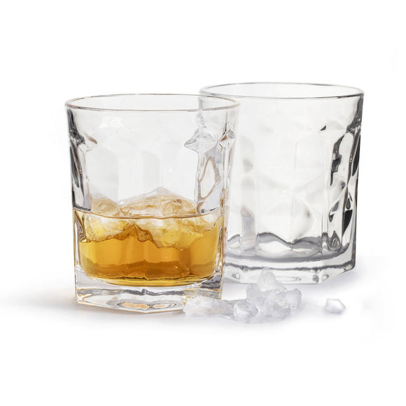 Bartender short tumblers, set of 2 clear 300ml