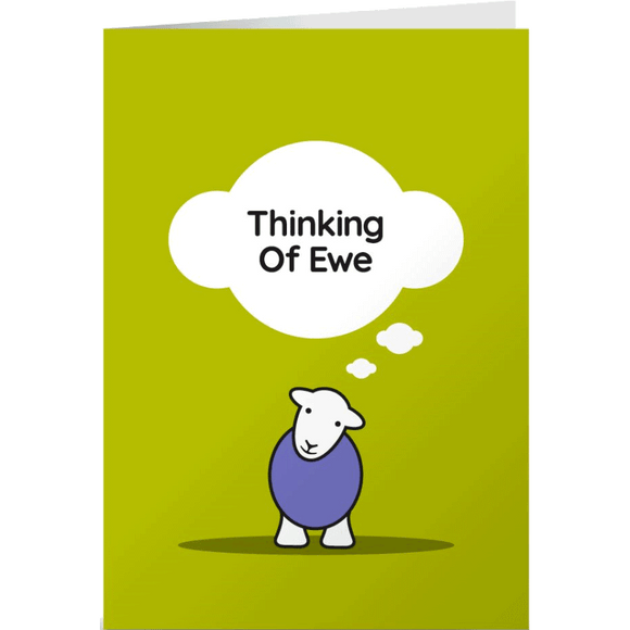 Herdy Greeting Card, Thinking of You