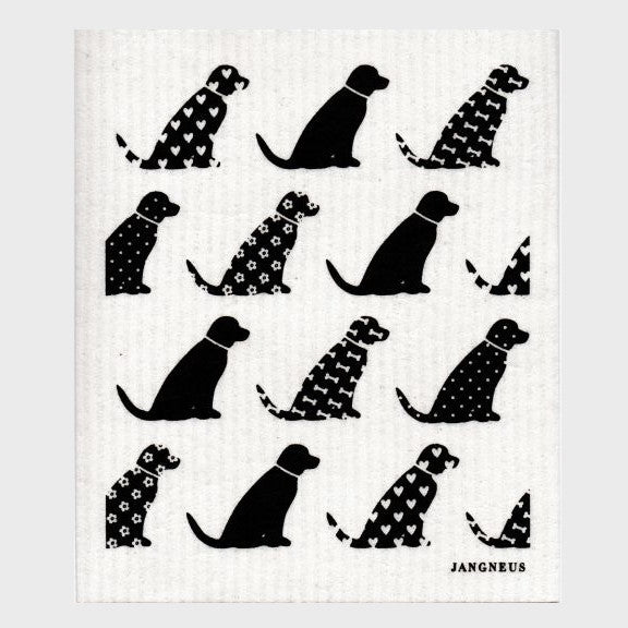 Jangneus Dishcloth, Black Dogs