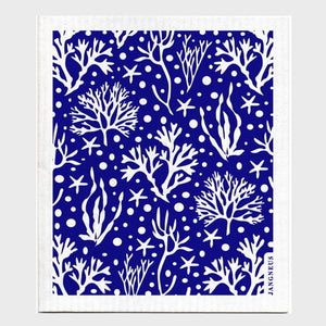 Jangneus Dishcloth, Blue Coral
